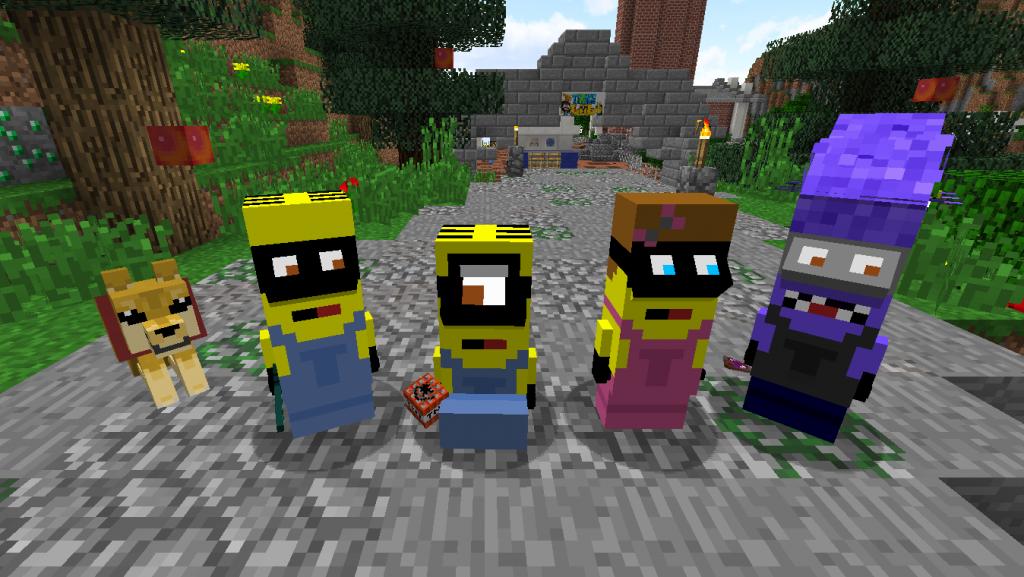 Minions Minecraft Mod