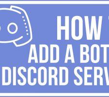 add bots to discord